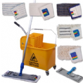 Damp Microfibre Mopping System